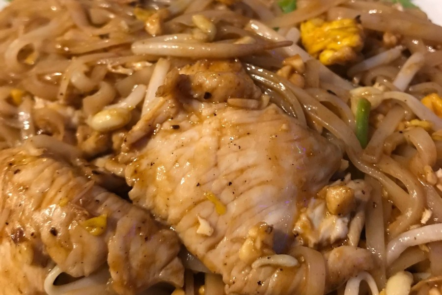 Chicken Pad Thai Jackey Jackey Cafe Cooktown
