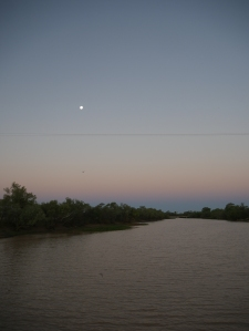 Moon Thompson River Longreach