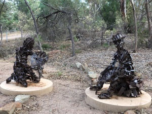 Peak Hill Gold Mine Sculpture