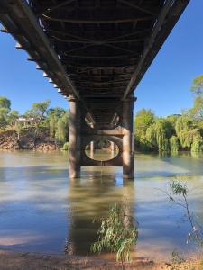 Under the Bridge at Corowa