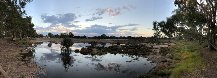Hopetoun Panorama Sunset