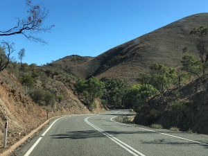 Travelling over the Flinders Ranges